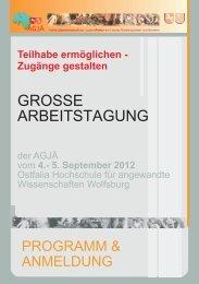 Programmheft online.cdr - Arbeitsgemeinschaft der Jugendämter