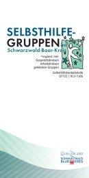 Selbsthilfegruppenverzeichnis - Schwarzwald-Baar-Kreis