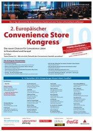 2. Europäischer - The Conference Group GmbH
