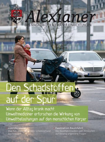 Den Schadstoffen auf der Spur - Alexianer Krankenhaus GmbH