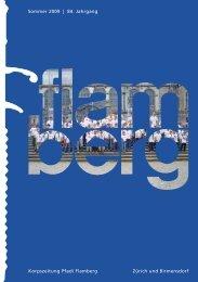 Gesamtausgabe «flamberg» Sommer 2/2009 ... - Pfadi Flamberg