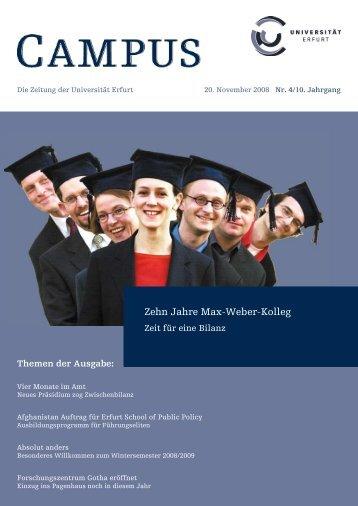 Nr. 4/10. Jahrgang - Digitale Bibliothek Thüringen
