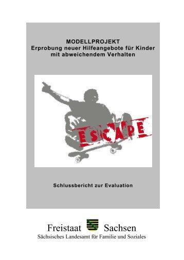 Modellprojekt ESCAPE - Familie - Freistaat Sachsen