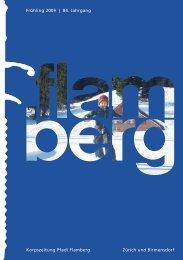 Gesamtausgabe «flamberg» Frühling 1/2009 ... - Pfadi Flamberg