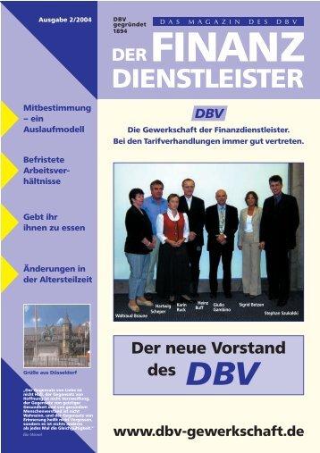 Ausgabe 02/2004 als pdf - DBV