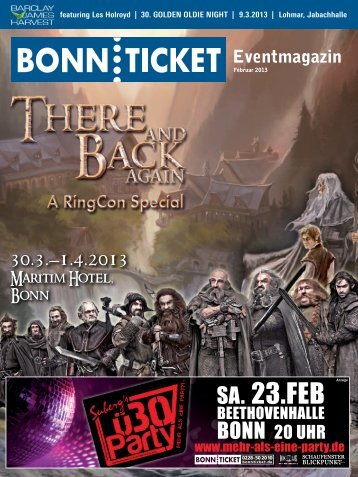 Eventmagazin - Bonnticket