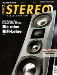 Page 1 STER Aktiv-Lautsprecher Backes & Müller BM 1 0 d: Die ...