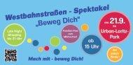 Weitere Infos finden Sie >>westbahnstraßen spektakel - IG Fahrrad