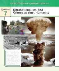 Ultranationalism and Crimes against Humanity - McGraw-Hill Ryerson