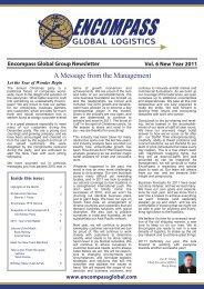 It - Encompass Global Logistics
