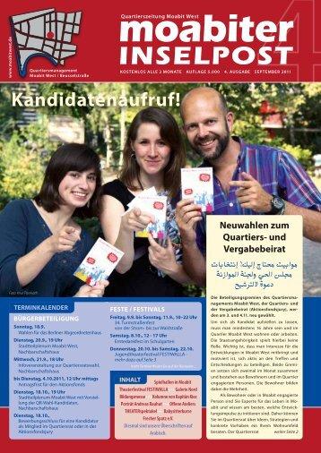 Kandidatenaufruf! - Quartiersmanagement Moabit West