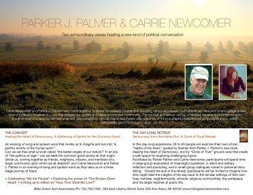 Parker J. Palmer - Carrie Newcomer