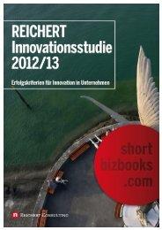 Reichert Innovationsstudie 2012-2013 - Dr. Klaus Reichert - Berater ...
