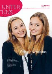 Ausgabe Dezember 2011 - acrevis