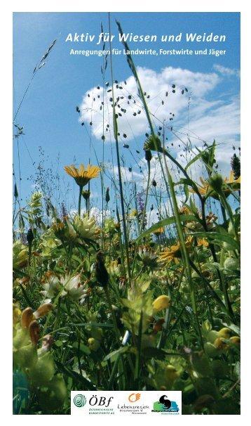 Aktiv für Wiesen und Weiden - Biosphärenpark Wienerwald