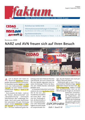 Faktum Ausgabe August & September 2009 - NARZ/AVN