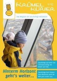 Krümelkurier Ausgabe 01-2012 - bei den Zaunkönigen