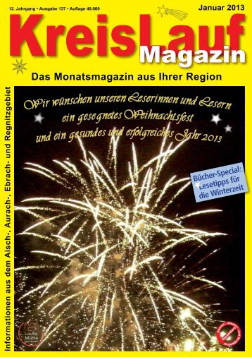 KreisLauf-Magazin Ausgabe Januar 2013