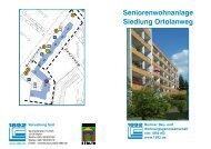Seniorenwohnanlage Siedlung Ortolanweg - Berliner Bau- und ...