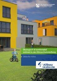 Dilldorfer Höhe Ökologisch & komfortabel wohnen in der ... - Allbau