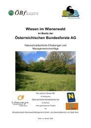 Wiesen im Wienerwald - Naturschutzbund NÖ