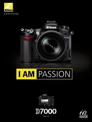 Télécharger la brochure de Nikon D7000 - GMC Trading AG