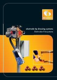 electrode tip dressing systems - Bräuer Systemtechnik GmbH