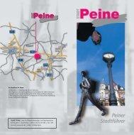 Peiner Stadtführer - Peine Marketing GmbH