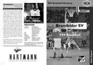 BSV Magazin - beim BSV Basketball