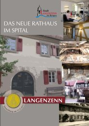Das neue Rathaus im Spital Teil 1 - Langenzenn