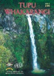 You can read the entire Tupu Whakarangi magazine - Maori Postal ...
