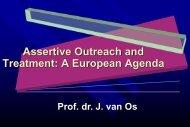 Prof. dr. J. van - Second European Congress on Assertive Outreach