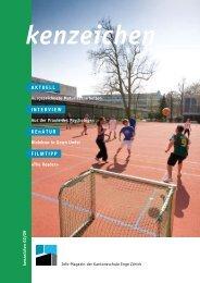 AKTUELL Neue Homepage für die KEN - Kantonsschule Enge