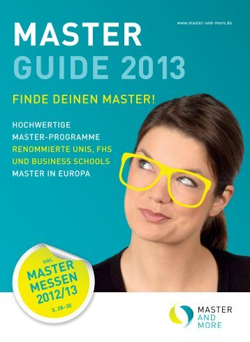 master guide 2013 - Master and More