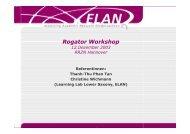 Rogator Workshop
