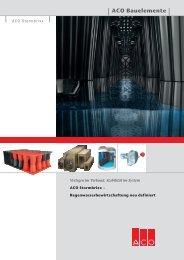 Prospekt ACO Stormbrixx - ACO GmbH