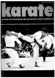 WM der IAKF in Bremen - Chronik des Karate