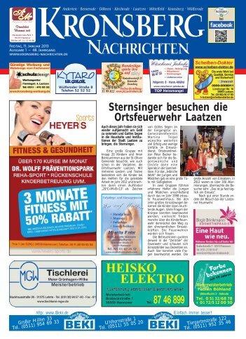 Ausgabe lesen - Kronsberg Nachrichten