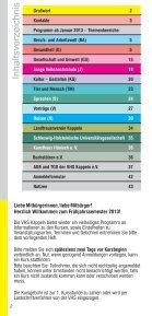 Kulturangebote in der Stadt Kappeln (pdf 0.8Mb - Volkshochschule ... - Seite 2
