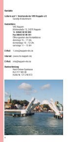 Kulturangebote in der Stadt Kappeln (pdf 0.8Mb - Volkshochschule ... - Seite 4