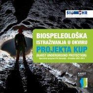 PROJEKTA KUP - KARST underground protection