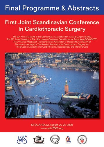 SATS 2009 Final Program - Scandinavian Association for Thoracic ...