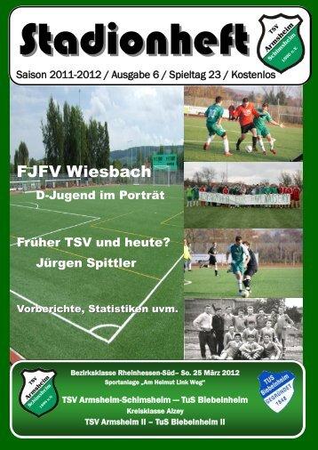 6 - Spieltag 23 - Fußball
