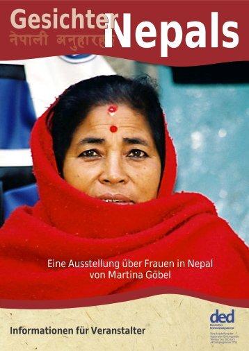 Präsentation Ausstellung Gesichter Nepals - Bildung trifft Entwicklung