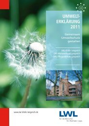 Umwelt- erklärUng 2011 - EMAS