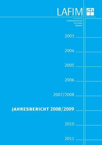 jahresbericht 2008/2009 - lafim