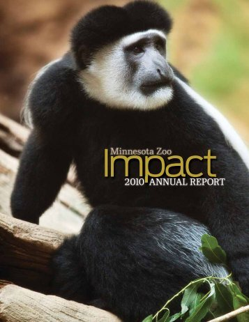 2010 ANNUAL REPORT Minnesota Zoo