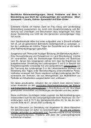 Vortrag von Frau Lieschke, Sozialamt Elbe-Elster - Liga der ...