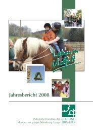 Jahresbericht 2008.pdf - Stiftung Eben-Ezer