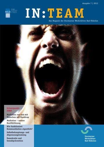 IN : TEAM , aktuelle Ausgabe: Nr.7, Thema: Zorn - NGD - Gruppe ...